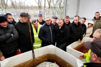 10/12/2019. Attending an open day at the ESB's Parteen Weir hatchery Photograph Liam Burke/Press 22